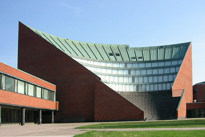 Helsinki University of Technology_auditorium