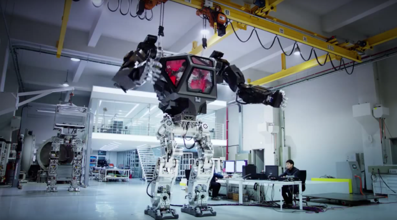 The Giant Bipedal Robot from South Korea