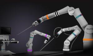Medical Robot. Photograph: Cambridge Medical Robotics