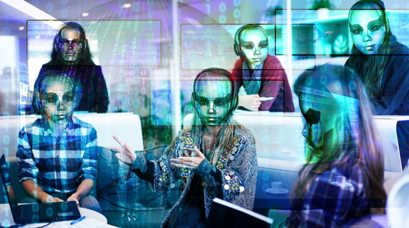 Artificial Intelligence commnunicating with humans