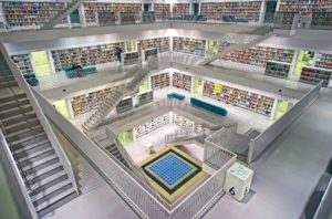 Library of books - Written by AI?