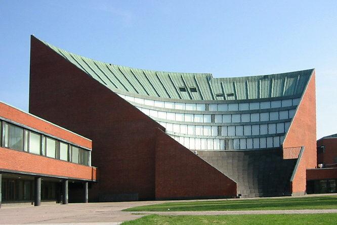 Helsinki University of Technology_auditorium
