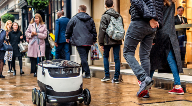 Delivery Robots are now legal in Virginia