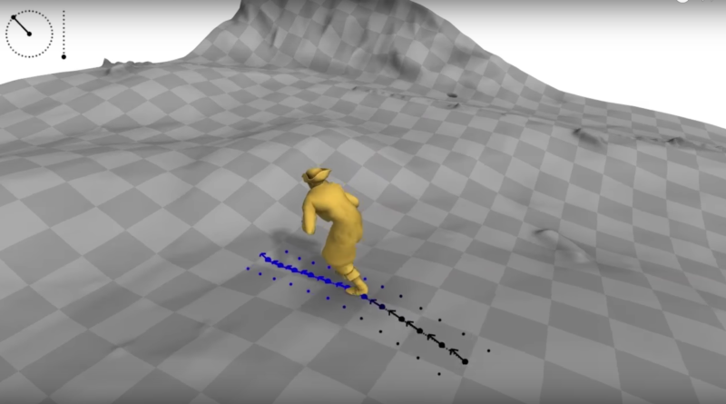AImaking game characters move more realistically