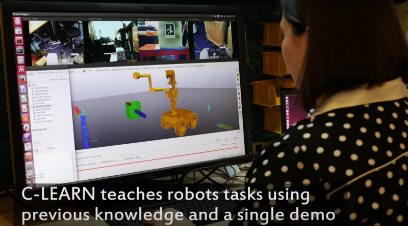 Robots Teaching Robots in MIT